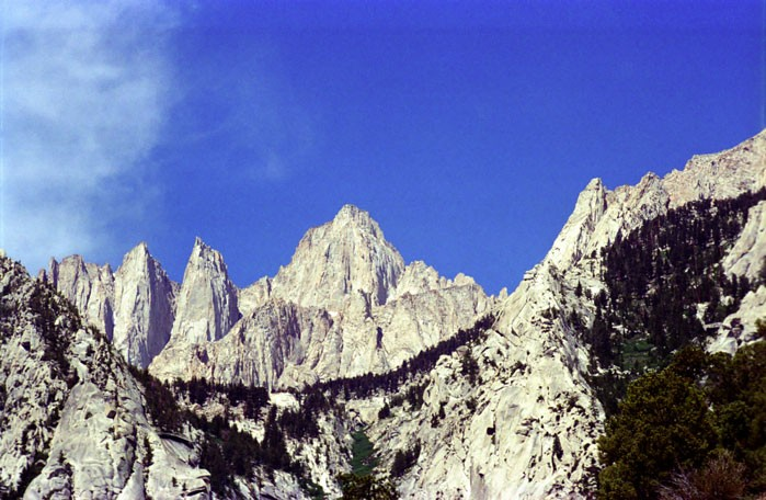 Mount Whitney Summit Trail Day Hike Photo