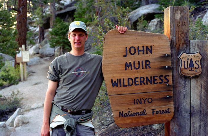 Mount Whitney John Muir Trail Sign