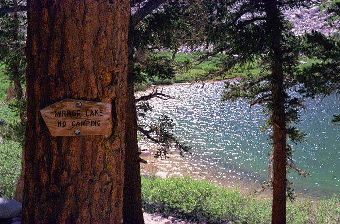 Mount Whitney Mirror Lake Trail Day Hike