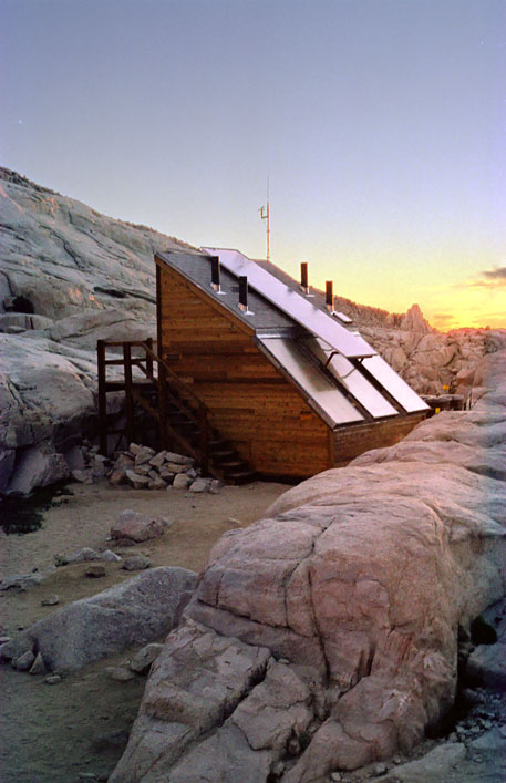 Mount Whitney Solar Toilet