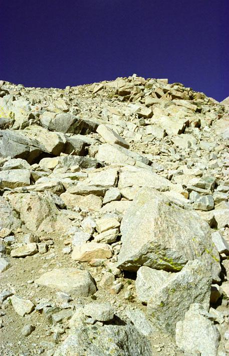 Mount Whitney Trail Switchbacks
