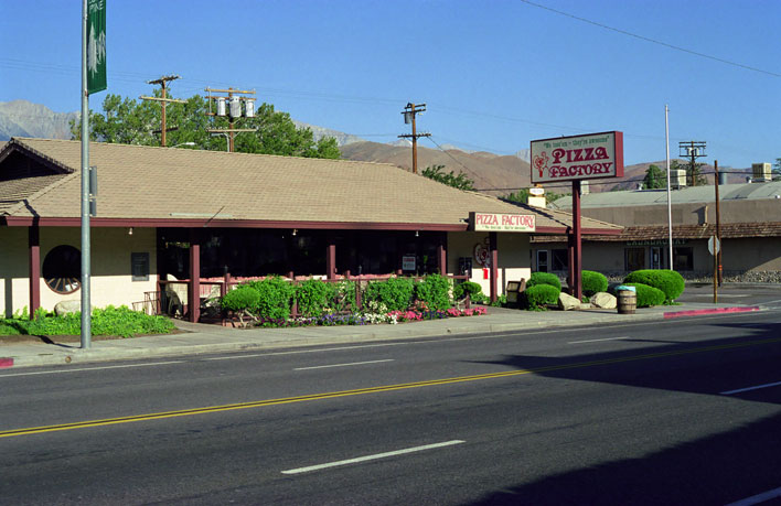 Mount Whitney Pizza Factory Lone Pine