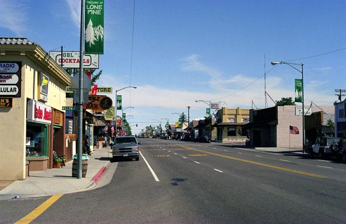 Mount Whitney Lone Pine Main Street