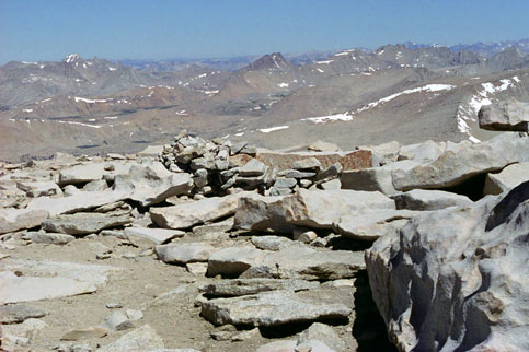 Mount Whitney Summit View